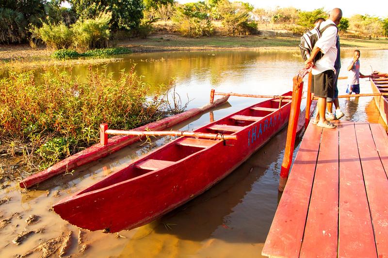 Boat from  Antsiranana, Madagascar