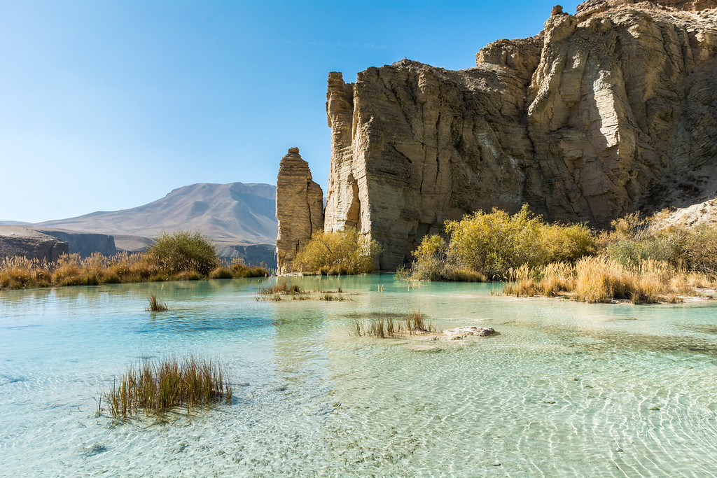 The Lakes of Band-e Amir, Afghanistan