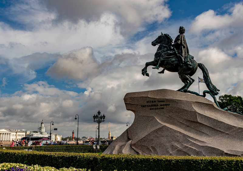The Bronze Horseman Statue