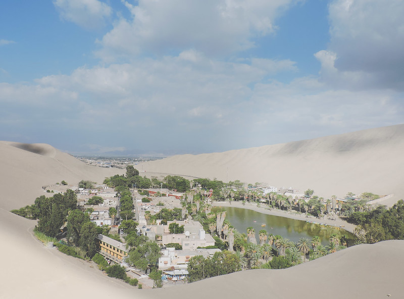 Yes, there are sand dunes in Peru!
