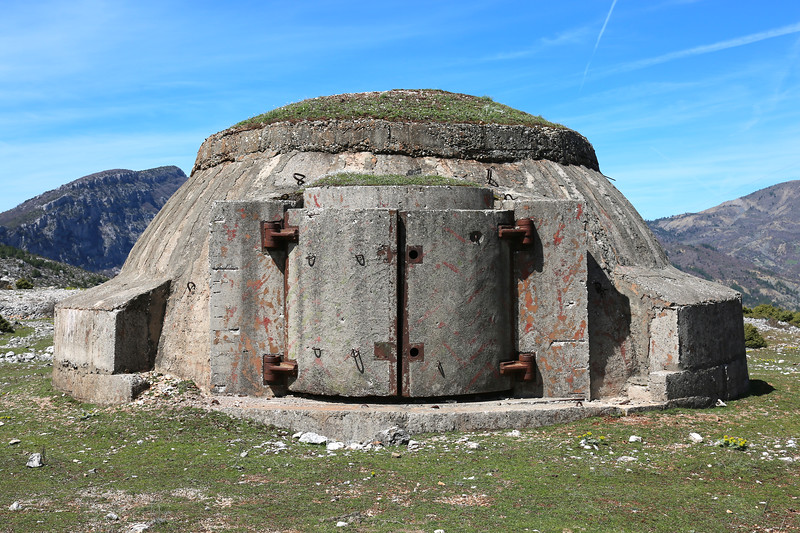 Albania has a lot of bunkers