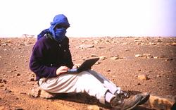 Blogging in the desert