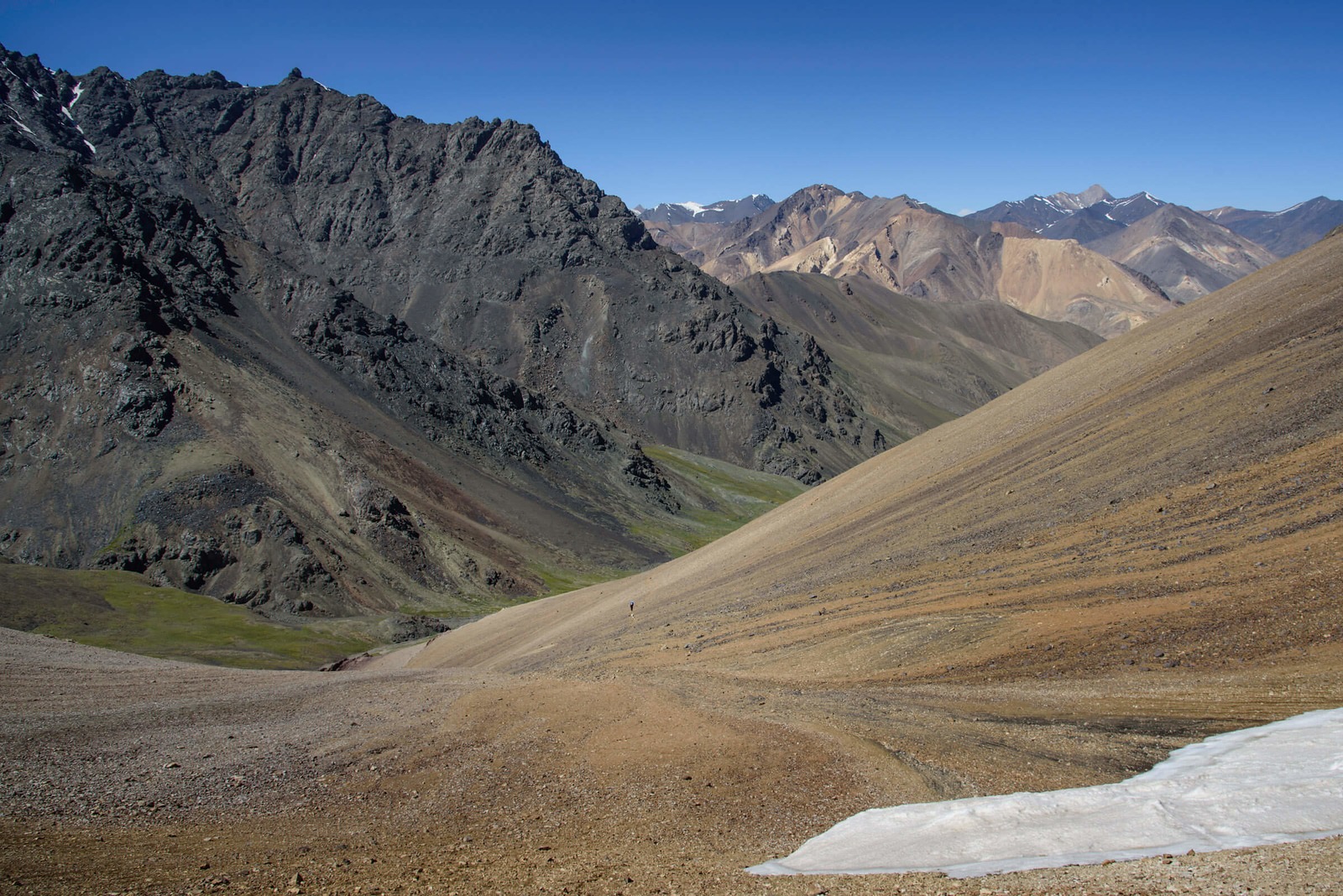Treking in the Pamir Mountains of Tajikistan