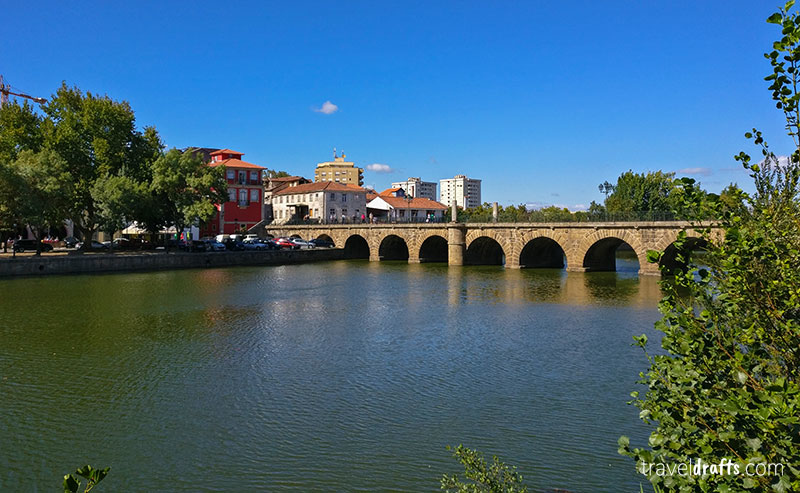 The Trajano Roman Bridge, Portugal