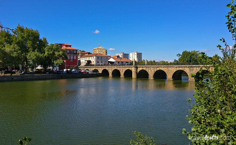 The Trajano Roman Bridge, Portugal