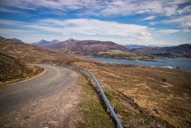 Bealach na Ba Pass Road on the North Coast 500