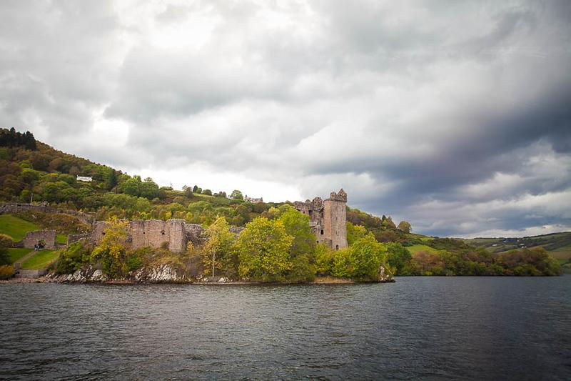 Castillo de Urquhart en Loch Ness