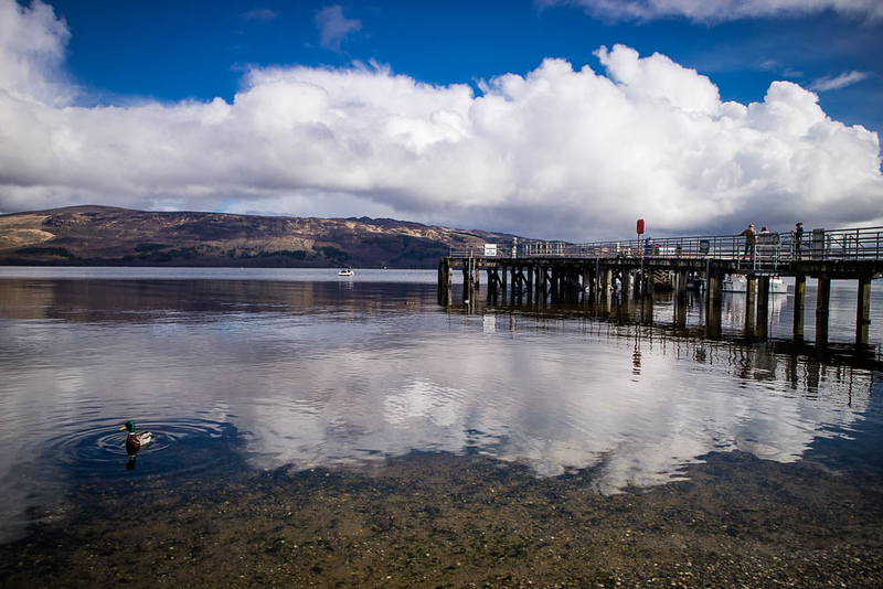 Luss Pier at Loch Lomond