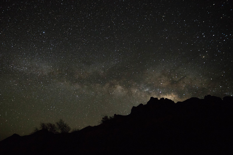 Stargazing over Big Bend National Park