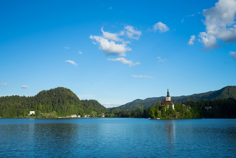 The Waters of Lake Bled, Slovenia