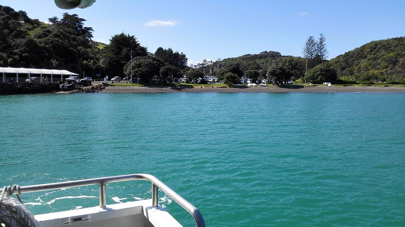 how to get to Matiatia Bay on Waiheke Island