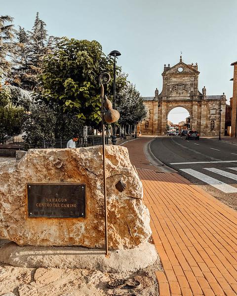 Sahagún on the Camino Frances