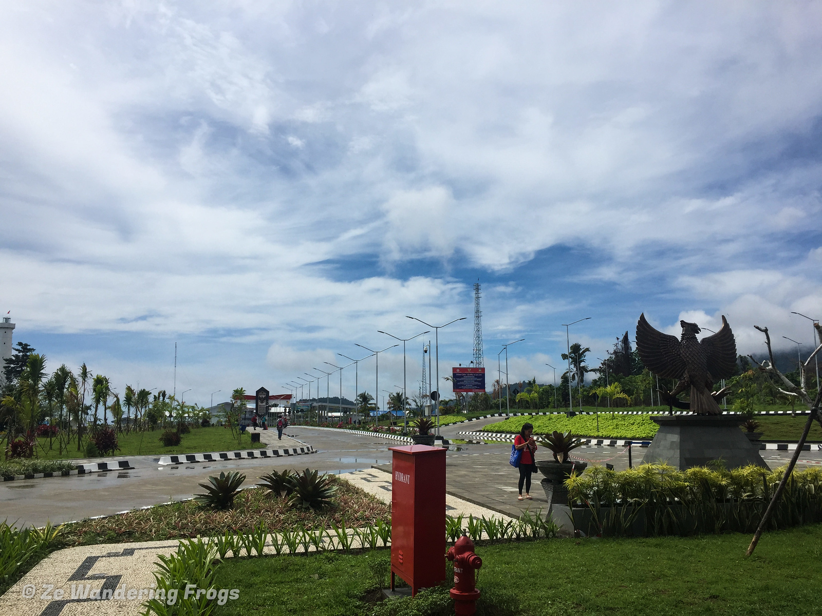 How to cross the border overland between Indonesia and Papua New Guinea
