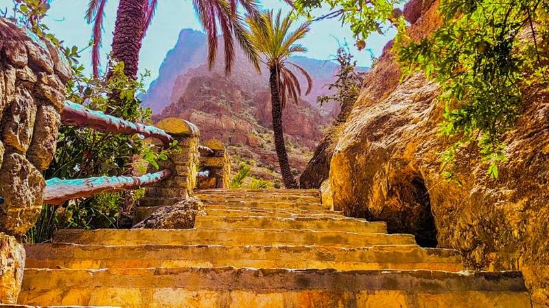 Wakan Village, Oman