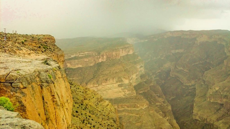 The View at Jebel Shams
