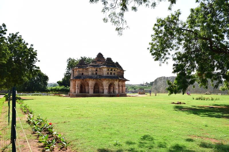 The Lotus Temple at Hampi