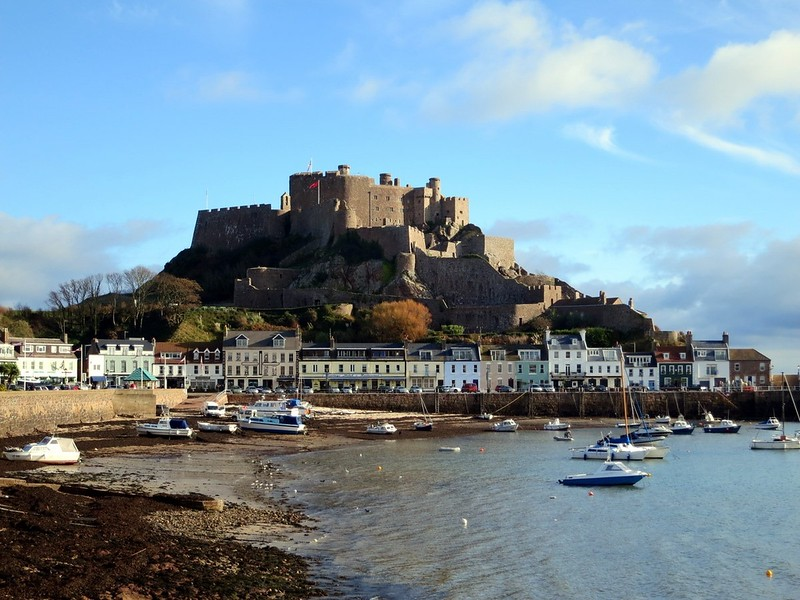 Mount Orgueil Castle on the island of Jersey. Image courtesy of Stefan Krasowski.