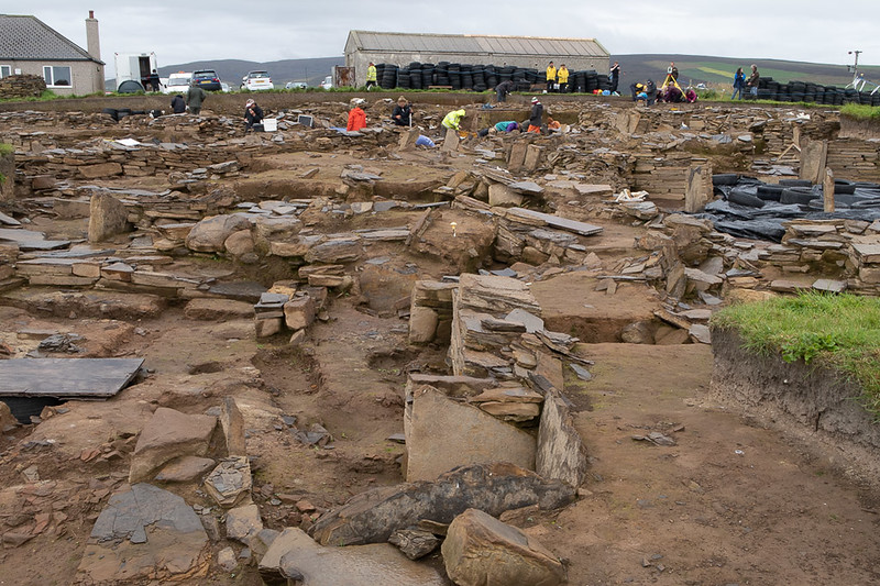 Archeological Dig at Ness of Brodgar