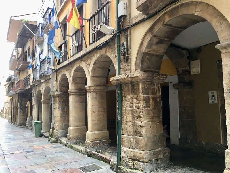 Arches in Aviles