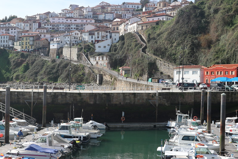 Fishing village in Asturias