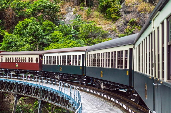 Kuranda Scenic Railway  in queensland