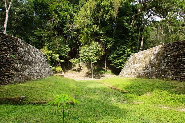 Maya ruins at Yaxha