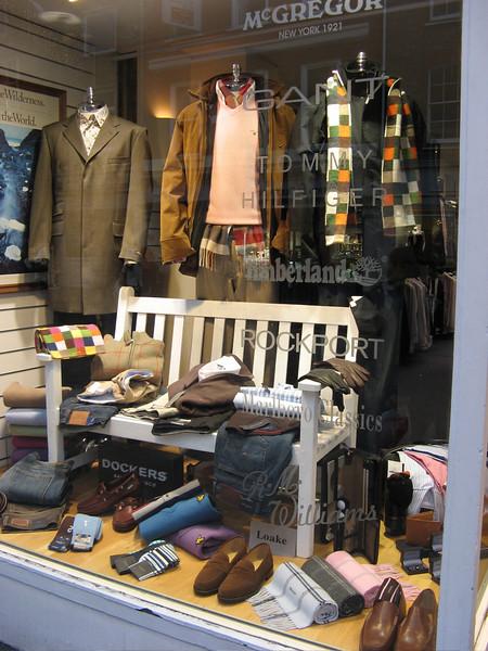 elegant clothing store - but pricey!