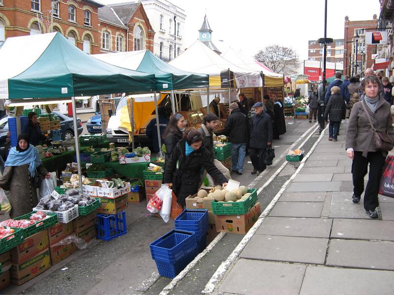 Guildford Saturday market