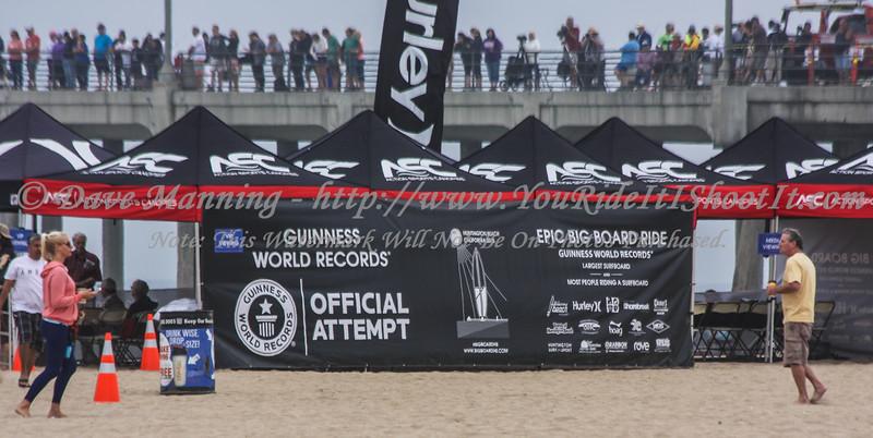 Guinness World Record Surfboard H.B. 06-20-2015