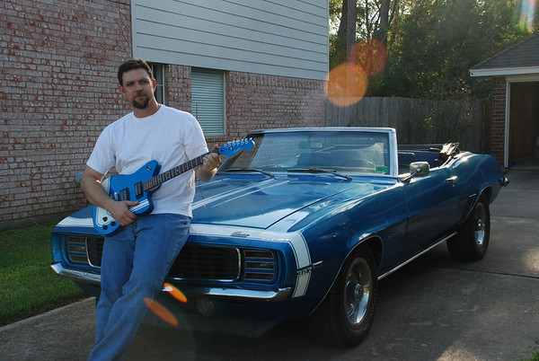 Guitar and the Camaro