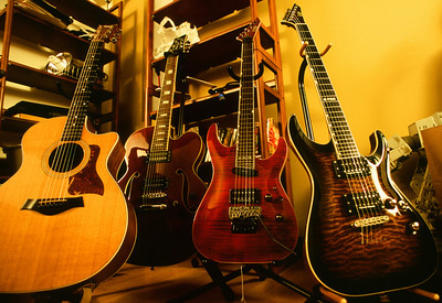 Brent's Guitar Collection (partial)
