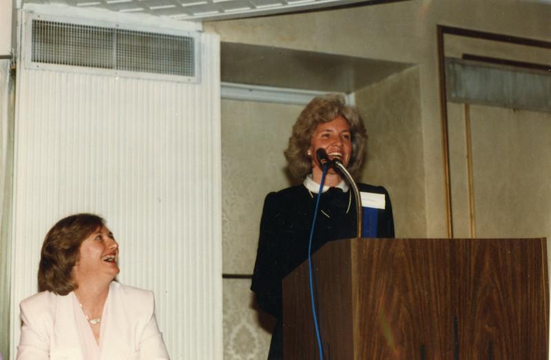 Tjalda Belastock and Kathy Stevenson