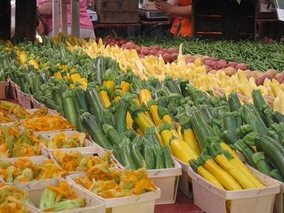 Fresh Veggies from DC Farmers Market