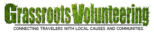 Grassroots Volunteering logo and header image