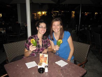 Drinks in Miami with Jenn