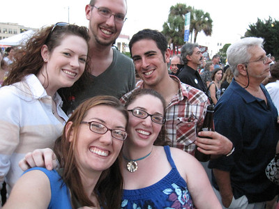 The Gang at a CCR Concert!