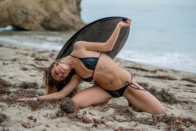 Gymnast! Nikon D800E Photos Beautiful Swimsuit Bikini Model Goddess with Long, Sandy-Blond Hair!