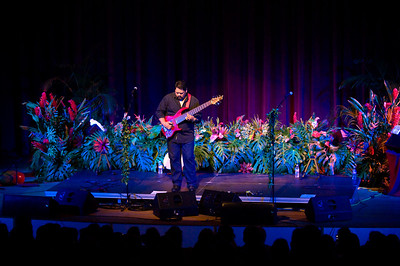 HAPA www.hapa.com - the award winning duo of master slack key guitar player Barry Flanagan, and 2007's Hawaii Male Vocalist, Nathan Aweau, gave a benefit concert for Kalaheo Elementary School. The event was held at Kauai Community College. The concert also featured Hawaiian chants by legendary Charles Ka'upu, and hula performed by beautiful Malia Petersen - Miss Aloha Hula 2002. Event organizer, Ronny Klindt, is already planning the 2nd annual HAPA for September 2009! photos by Dara Caudill www.IslandPhotography.org