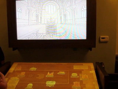 Cindy Vaden Bosch explains why the Eldridge Street Synagogue fell into disrepair and the story of its rebirth.  An interactive digital projection system shows before and after photos.