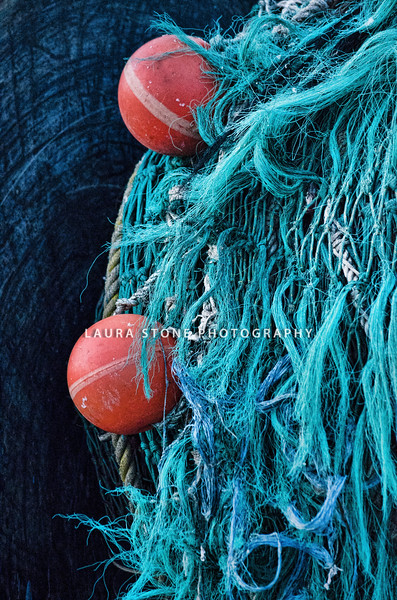 Fishing net, Stonington, Connecticut