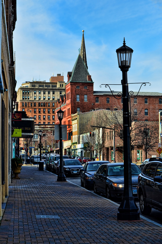 Streetscape, New London, Connecticut