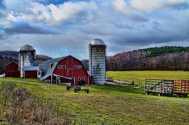 A farm in southwestern Vermont
