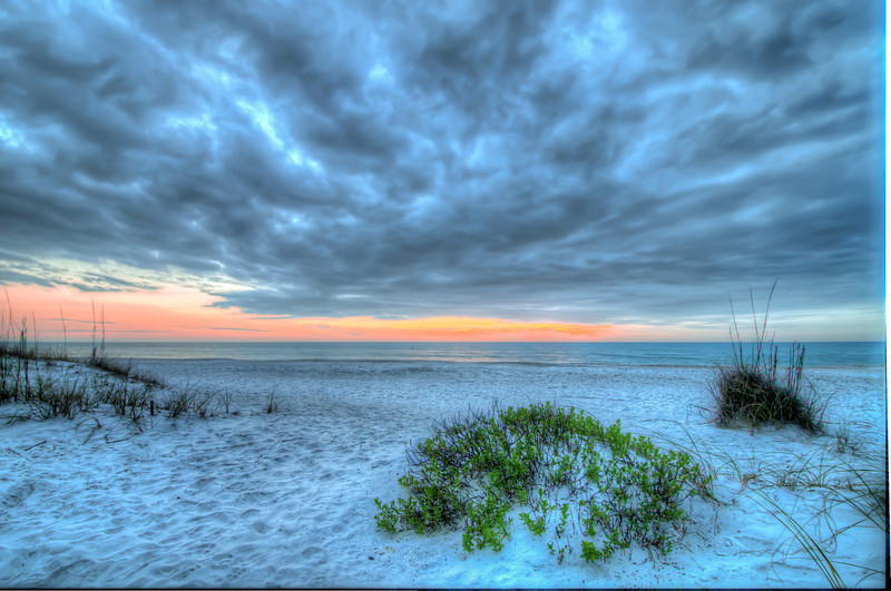 Winter Sunset on Anna Maria, Florida