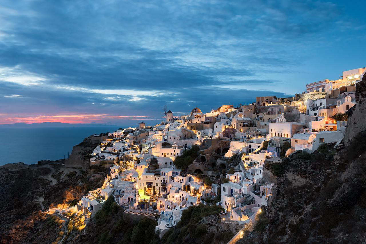 The Heart of Santorini || Oia Greece