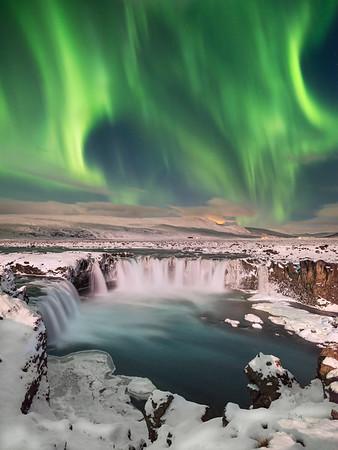 Sky Fire || Iceland
