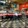 HDR: Cafe at Central Market, Adelaide, Australia.