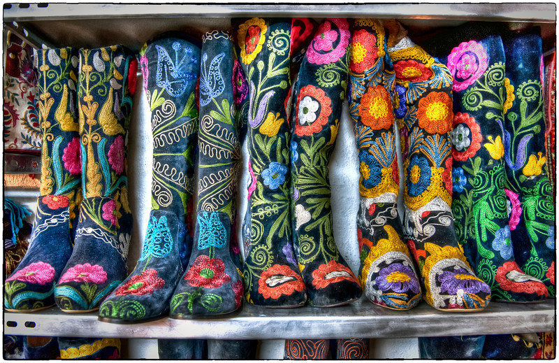 Boots, Istanbul, Turkey - HDR.