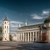 Roman Catholic Cathedral, Vilnius, Lithuania HDR.