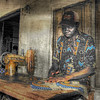 Tailor on Likoma Island, Malawi - HDR.