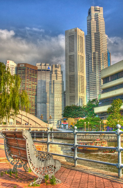 Downtown Singapore HDR.